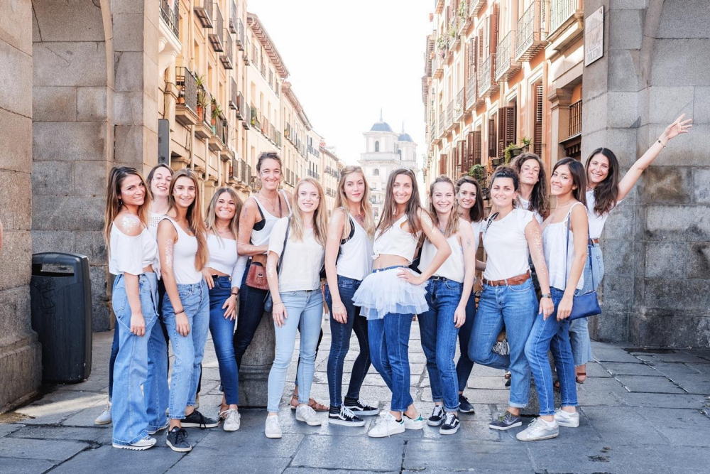 meilleures activités evjf à madrid - shooting photo EVJF MADRID