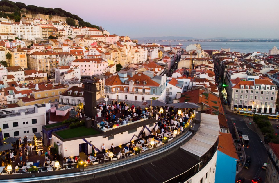 meilleures activités evjf à lisbonne - rooftop lisbonne
