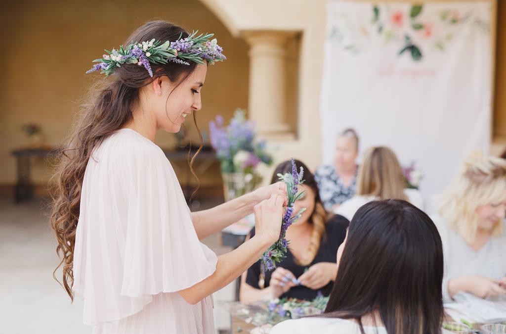 atelier couronnes de fleurs evjf deauville