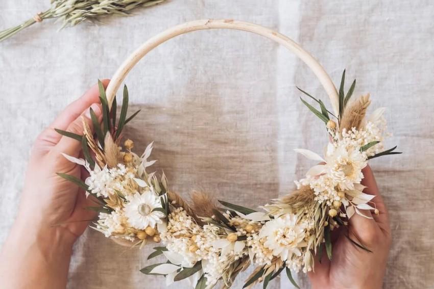 atelier couronnes de fleurs