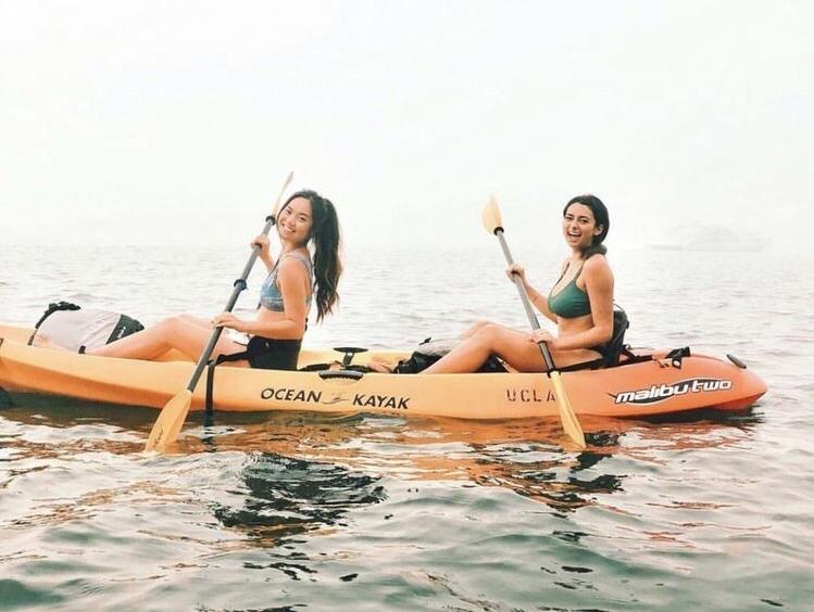 balade en canoe evjf deauville